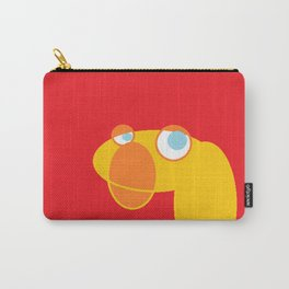 Disappointed Sock Monkey Carry-All Pouch