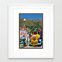forever young Framed Art Prints featuring Forever Young by CrismanArt