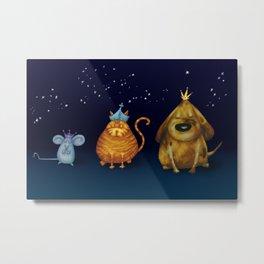 We Three Kings Metal Print