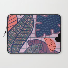 Palm & Monstera Leaves Laptop Sleeve