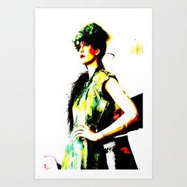 Vintage: Bea Art Print