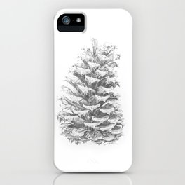 Pine Cone (Extended) iPhone Case