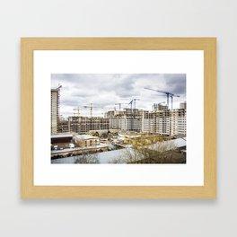 Build it Framed Art Print