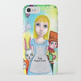 Alice and Friends by Kylie Fowler iPhone Case