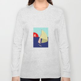 Sailing in May with May - shoes stories Long Sleeve T-shirt