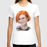 hayley williams T-shirts featuring Low Poly Design Hayley Williams by kertasputih