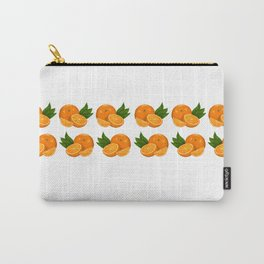 Oranges - Juicy Pattern Carry-All Pouch