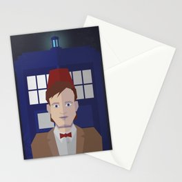 The 11th Doctor Stationery Cards