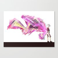 tokyo ghoul Canvas Prints featuring Tokyo Ghoul by Cozi Lopez