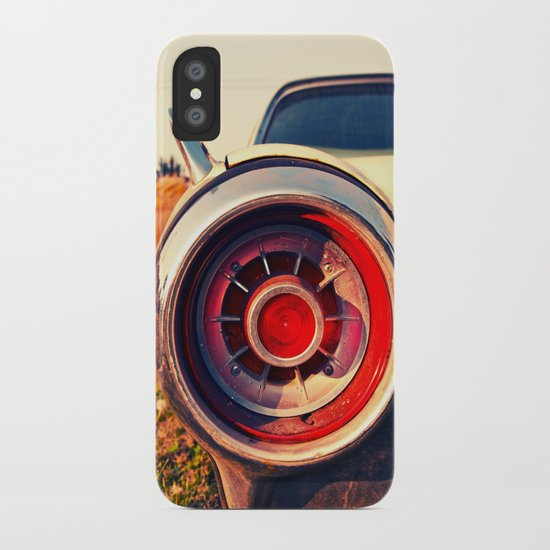 T Bird Taillight Iphone Case By Vorona Photography Society6