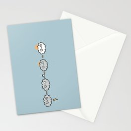 Cloudy Mornings Stationery Cards