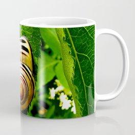 Snail on Leaf Coffee Mug