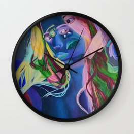 Happy Accident Wall Clock