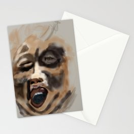 the screamer Stationery Cards
