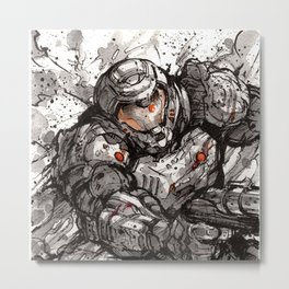 Doom! Metal Print