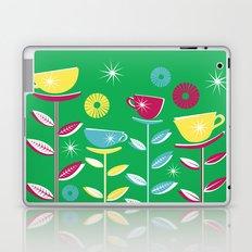 Teacups - Green Laptop & iPad Skin