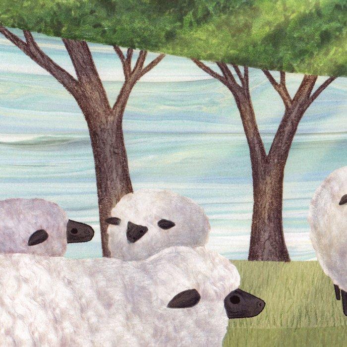sunshine sheep Leggings