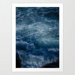 Stormful Ocean Art Print