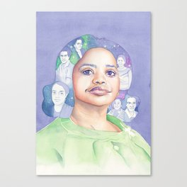 Dorothy Vaughn Hidden Figures Canvas Print