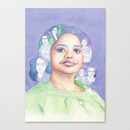 Dorothy Vaughn Hidden Figures Canvas Print
