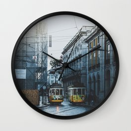 Lisbon, Portugal III Wall Clock