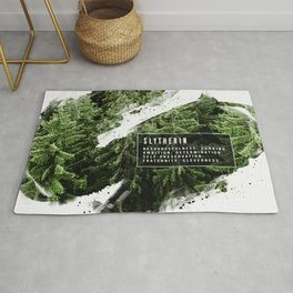 Slytherin Nature Rug