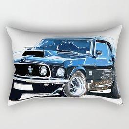 american muscle  Rectangular Pillow