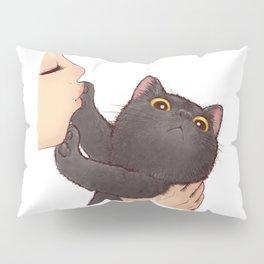 cat : huuh Pillow Sham