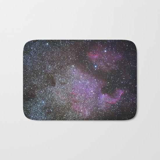 North America Nebula and Pelican Nebula Bath Mat
