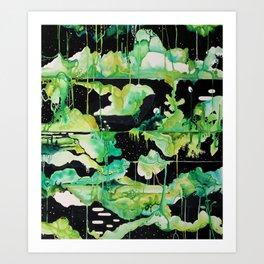Void Gardens Art Print