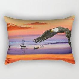 Gone Fishing Rectangular Pillow