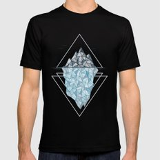 Iceberg Black Mens Fitted Tee MEDIUM