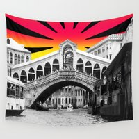 venice Wall Tapestries featuring Venice by Tisha Jordan Scott