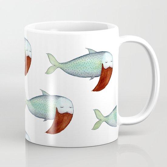 fish with beard Mug