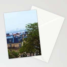 Parisien Rooftops Stationery Cards