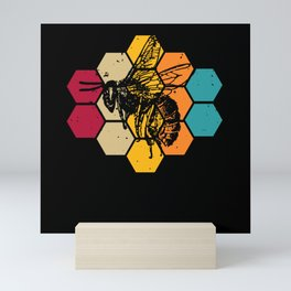 Let It Bee - A Heart For Bees Mini Art Print