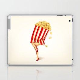 Popcorn Girl Laptop & iPad Skin
