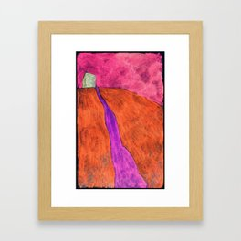Hillroad Framed Art Print