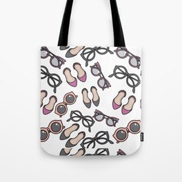 Ladies, ladies shoes and more shoes Tote Bag