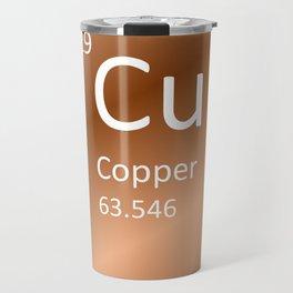 Heavy Metals - Copper Travel Mug