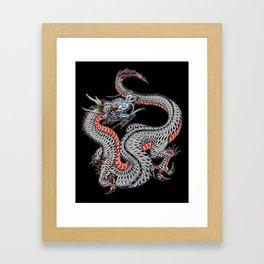 japanese dragon 10 Framed Art Print