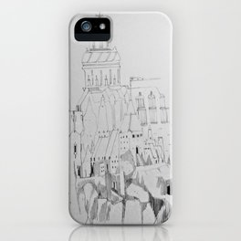 Northern Towers iPhone Case