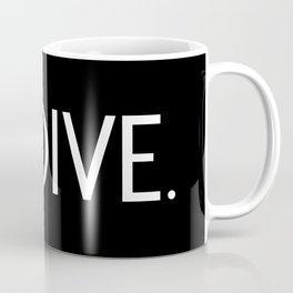 Diving: Diving Flag & Dive. Coffee Mug