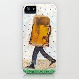 Walking Beer iPhone Case