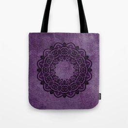 Circle in Purple Tote Bag