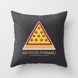 All you need is pizza Throw Pillow