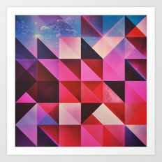 hyppy byrthdyy Art Print