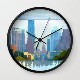 Colorful Austin Wall Clock