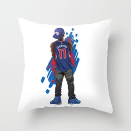 Bench On A QUEST: JC11 Throw Pillow