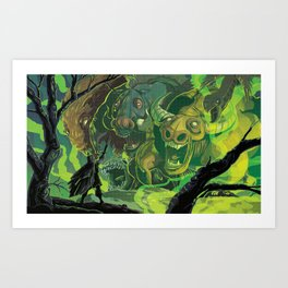 Against All Odds Art Print